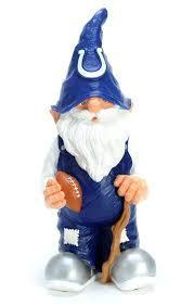 Indianapolis Colts Garden Gnome