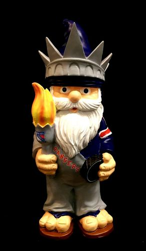 New York Rangers Theme Gnome