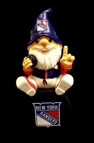 New York Rangers Logo Gnome