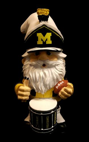 Michigan Wolverines Theme Gnome