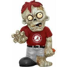 Alabama Crimson Tide Zombie Gnome