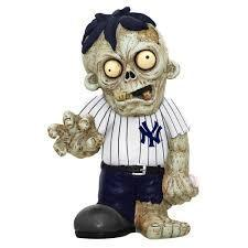 New York Yankees Zombie Gnome