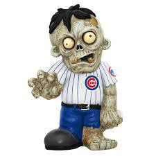 Chicago Cubs Zombie Gnome