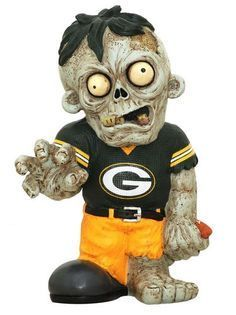 Green Bay Packers Zombie Gnome