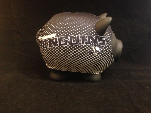 Pittsburgh Penguins Plastic Piggybank