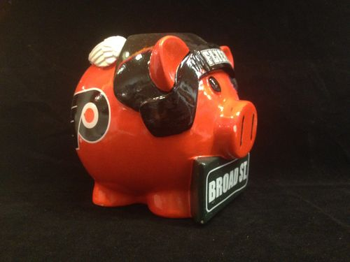 Philadelphia Flyers Ceramic Piggybank