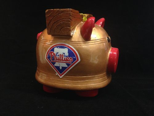 Philadelphia Phillies Ceramic Piggybank