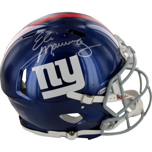 ELI MANNING GIANTS AUTHENTIC F/S HELMET WITH COA