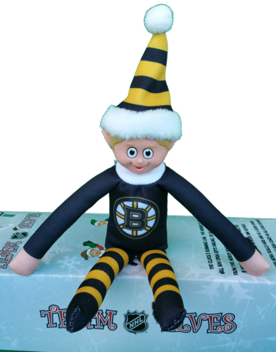 Boston Bruins Elf on a Shelf
