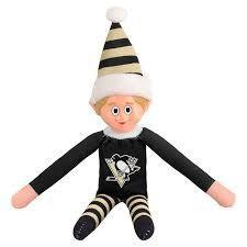 Pittsburgh Penguins Elf on a Shelf