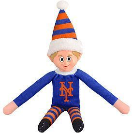 New York Mets Elf on a Shelf