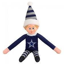 Dallas Cowboys Elf on a Shelf
