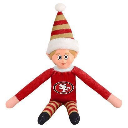 San Francisco 49ers Elf on a Shelf