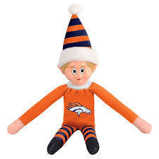 Denver Broncos Elf on a Shelf