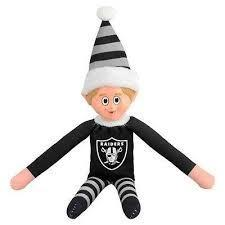 Oakland Raiders Elf on a Shelf
