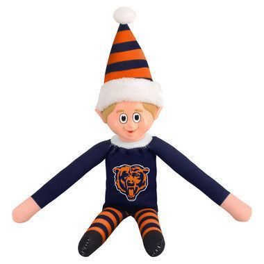 Chicago Bears Elf on a Shelf