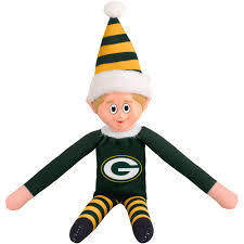 Green Bay Packers Elf on a Shelf