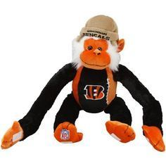 Cincinnatti Bengals Stuffed Monkey