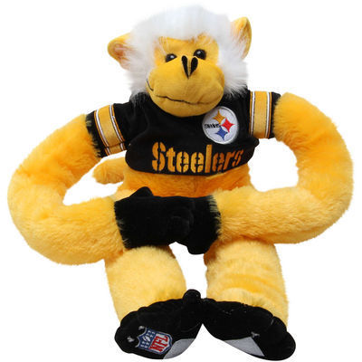 Pittsburgh Steelers Plush Monkey