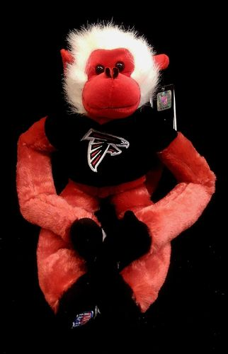 Atlanta Falcons Plush Monkey