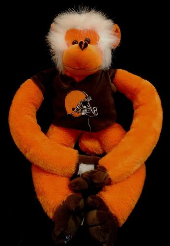 Cleveland Browns Plush Monkey