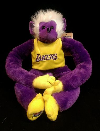 Los Angeles Lakers Plush Monkey