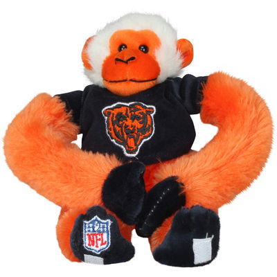 Chicago Bears Plush Monkey