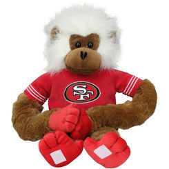 San Francisco 49ers Plush Monkey