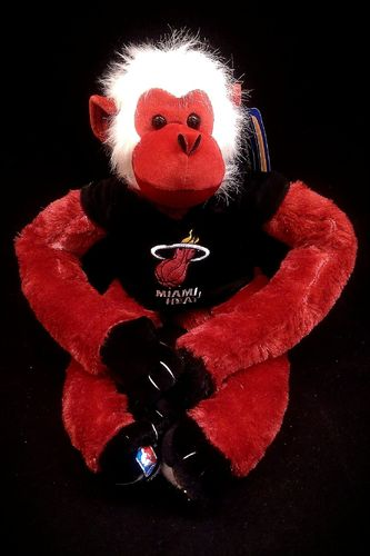 Miami Heat Plush Monkey