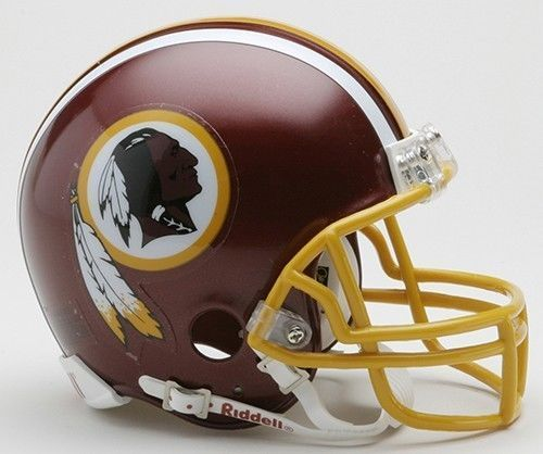 Washington Redskins Riddell  Mini Speed Helmet