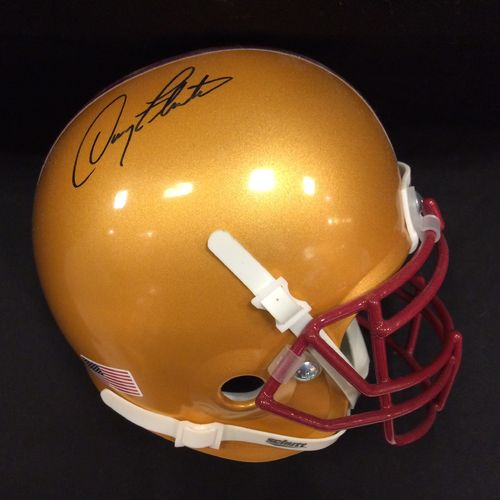 Doug Flutie Autographed Boston College Eagles Mini Helmet