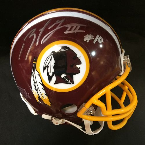 Robert Griffin III Autographed Washington Redskins Mini Helmet