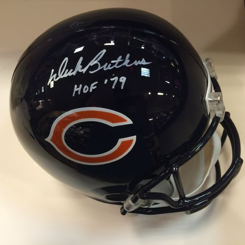 Dick Butkus Autographed Chicago Bears Full Size Helmet