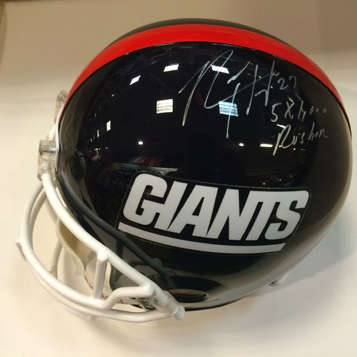Rodney Hampton Autographed New York Giants Full Size Helmet