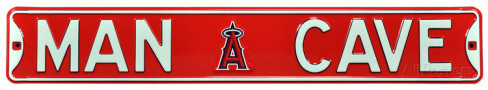 "Los Angeles Angels 6"" x 36"" Man Cave Steel Street Sign"