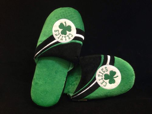 Boston Celtics Slippers