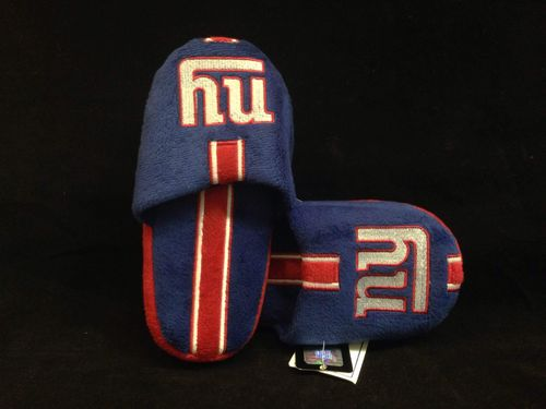 New York Giants Youth Slippers