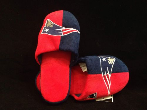 New England Patriots Youth Slippers