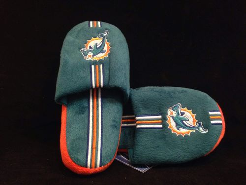 Miami Dolphins Youth Slippers