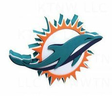 Miami Dolphins Fan Foam