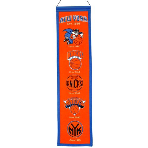 "New York Knicks Wool 8"" x 32"" Heritage Banner"