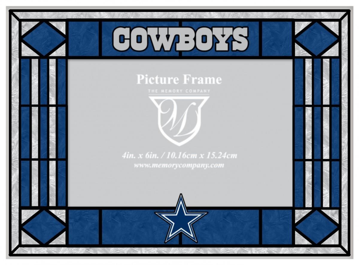 Cowboys art glass picture frame dallas cowboys art glass picture frame jeuxipadfo Choice Image