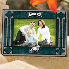 Philadelphia Eagles Art Glass Picture Frame
