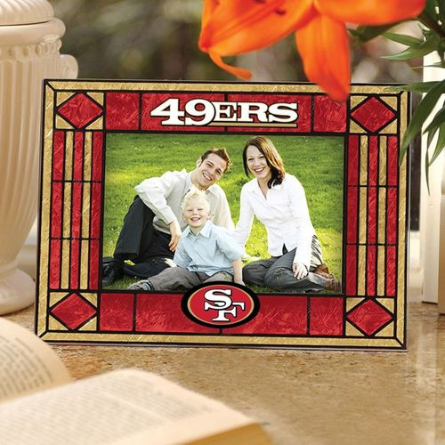 San Francisco 49ers Art Glass Picture Frame