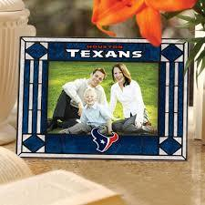 Houston Texans Art Glass Picture Frame