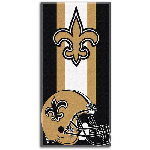 New Orleans Saints Northeast Company Zone Read Beach Towel