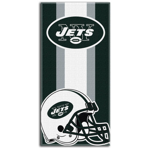 New York Jets Northeast Company Zone Read Beach Towel