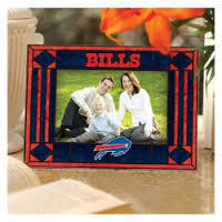 Buffalo Bills Art Glass Picture Frame