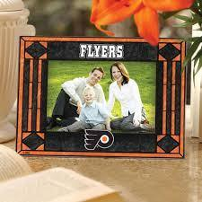 Philadelphia Flyers Art Glass Picture Frame