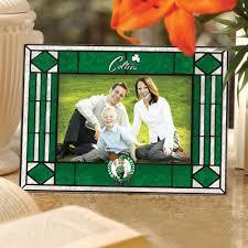 Boston Celtics Art Glass Picture Frame